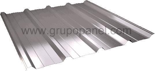 Chapa trapezoidal acero inoxidable gp 30 275 grupopanel - Perfil acero inoxidable precio ...