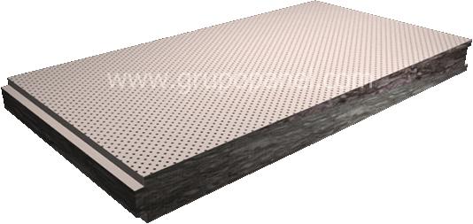 Paneles sandwich acusticos panel perforado paneles - Panel sandwich aislante ...